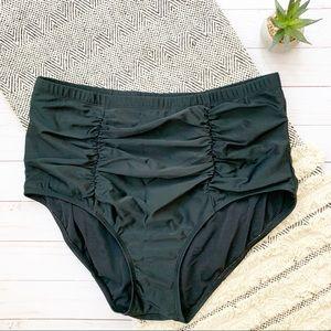 Torrid High Waisted Black Bikini Bottoms